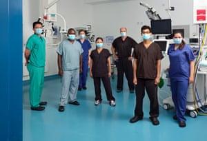 RFH operating theatre