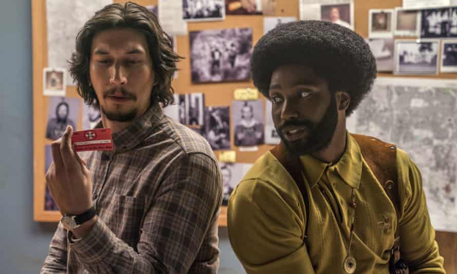 Spike Lee's film BlackKkKlansman told the story of Ron Stallworth, a black cop who infiltrated the KKK.