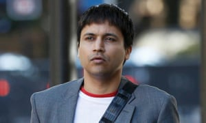 Navinder Sarao arrives for an extradition hearing at Westminster magistrates court, London, in September.