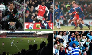 Slaven Bilic will once again be battling bubbles at London Stadium, Eddie Nketiah is back at Arsenal after his loan spell at Leeds. Shrewsbury's Dave Walton and Paul Evans crowd out Liverpool's Steve McManaman in 1996. QPR fans have had plenty of goals to celebrate recently and the view from the terraces at Griffin Park.