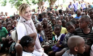 Madonna in Malawi in 2013, at one of the schools her foundation has helped build.