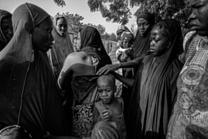 Zara Abubakar, a mother of eight, who lives in Maidugur