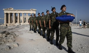 There are proposals to cut a further €200m from the still relatively large Greek defence budget.