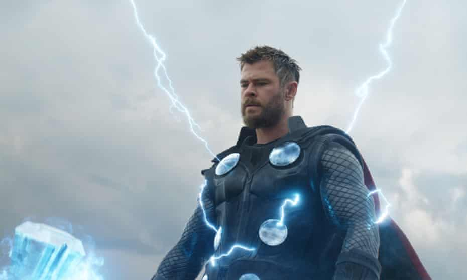 I knew it! But did you? … Chris Hemsworth in Avengers: Endgame.