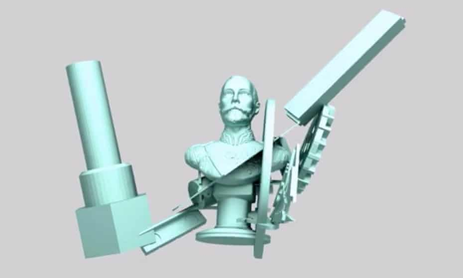 A model produced by the Shiv Integer bot.