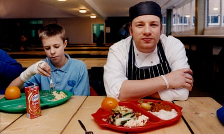 Jamie Oliver has been tasked by government to think about improvements that can be made.