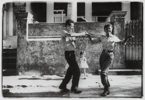The cha-cha-cha is danced by members of ICAIC, 1963