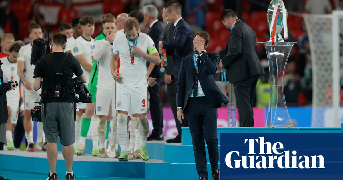 Long balls and fear hampered England in Euro 2020 final, Uefa experts claim