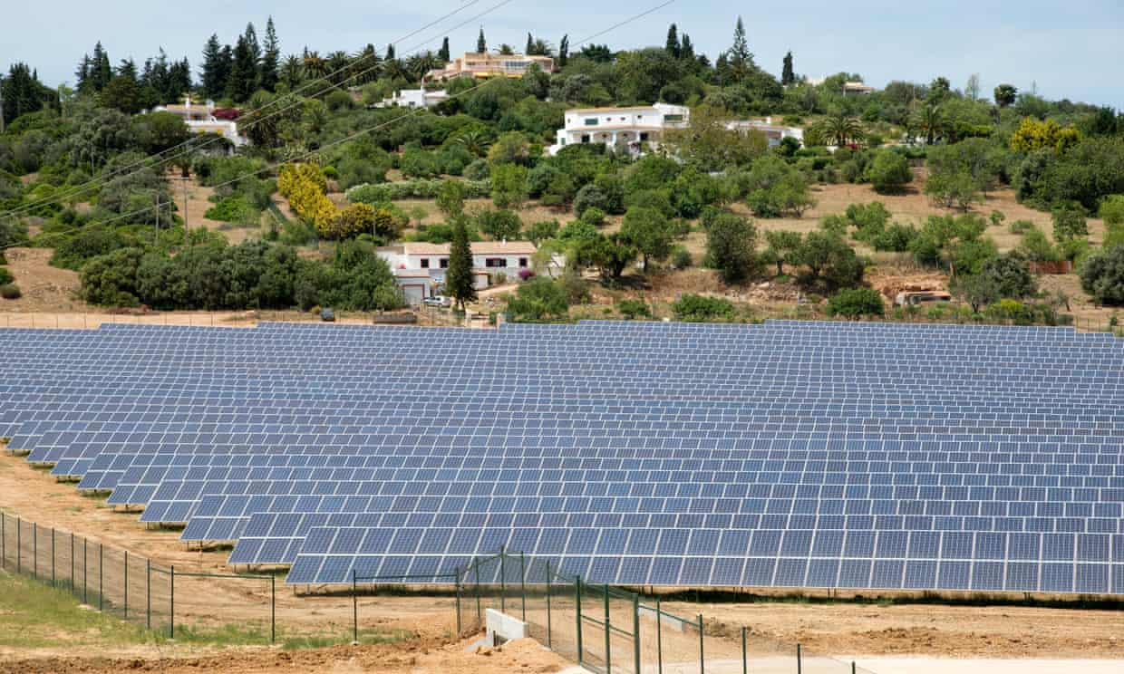 Portugal runs four days on renewable energy