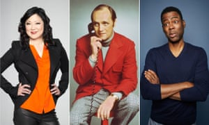 Funny and special: Margaret Cho, Bob Newhart and Chris Rock.