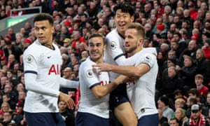 From left: Dele Alli, Harry Winks, Son Heung-min and Harry Kane are part of a strong Spurs squad.