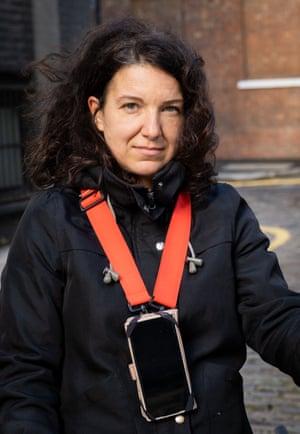 Claudia, Uber Eats driver since September