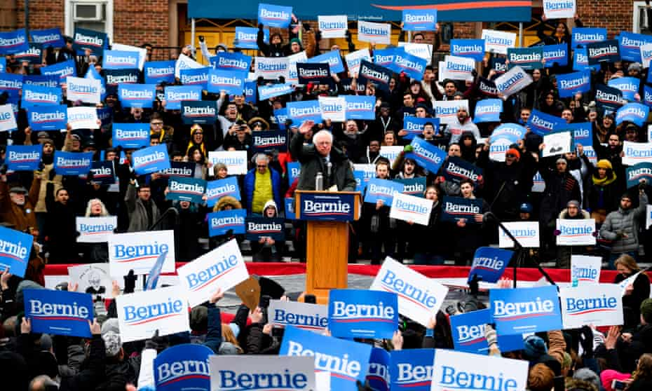 Bernie Sanders kicked off his 2020 campaign in Brooklyn, in March.