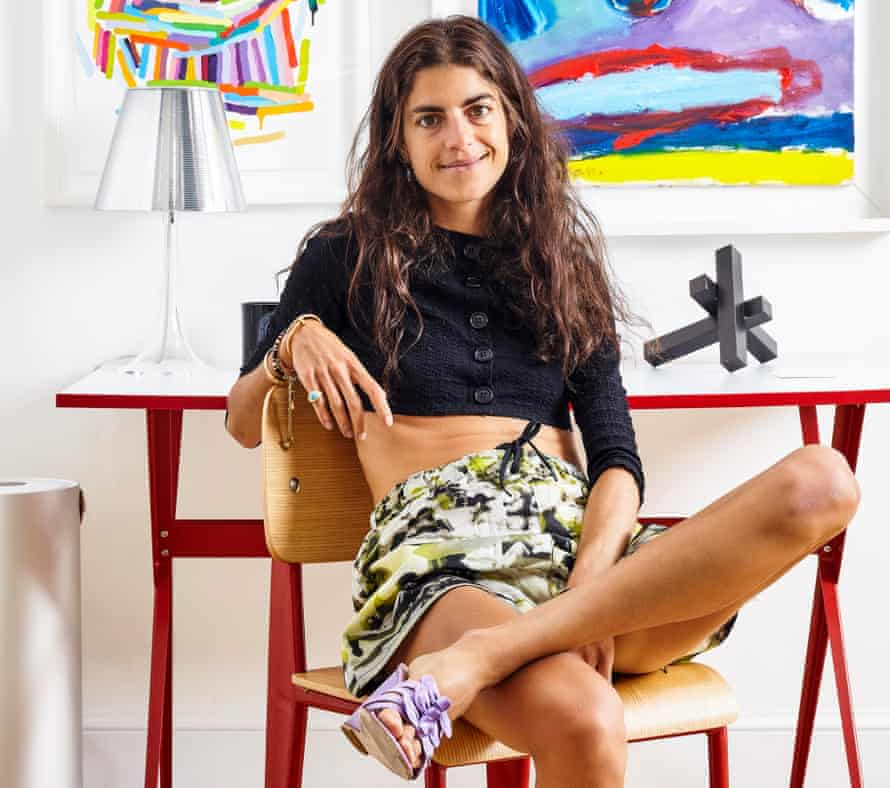 Fashion blogger Leandra Medine