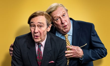 'Do you wear a mask, sir? Do you?' … Paul Whitehouse and Mark Williams as Ken and Kenneth.