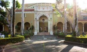 The University of Puerto Rico theatre building in Rio Piedras.