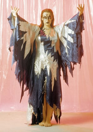 Stacia, dancer with Hawkwind, in 1972.