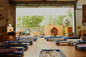 Empty childcare centre.