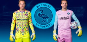 Wycombe Wanderers New Goalkeeper Kits
