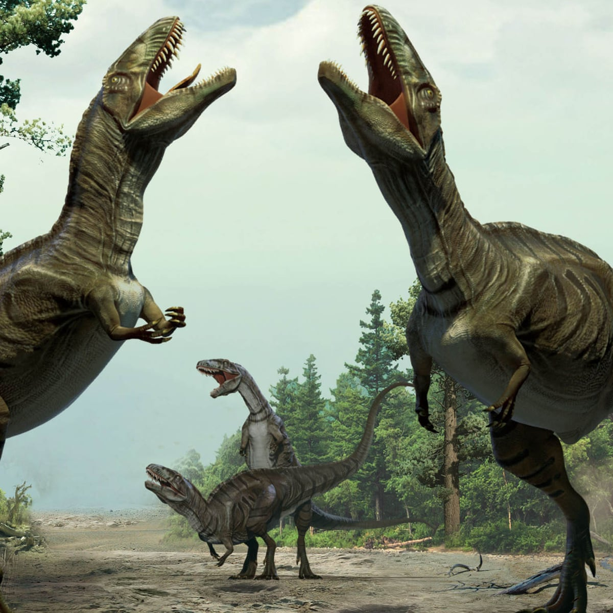 Dinosaurs performed dances to woo mates, according to new evidence |  Dinosaurs | The Guardian