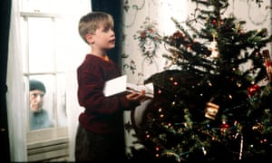 'The study of a sadist in training' ... Macaulay Culkin's Kevin McCallister is obsessed with cheese pizza, ice cream and torturing adults.