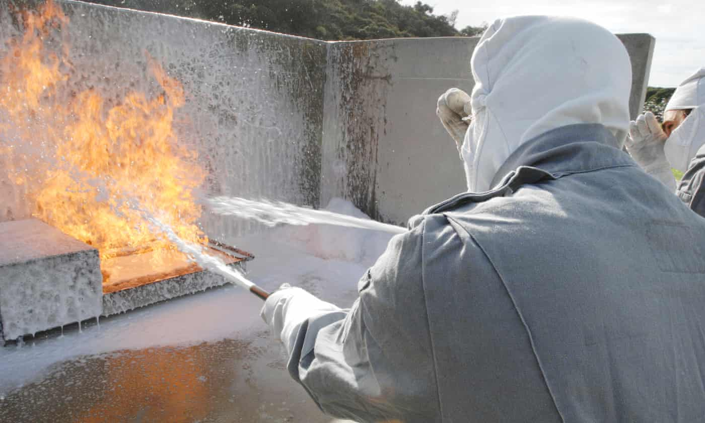 Foam contamination: firefighters must have blood tests, says commander