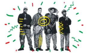 A Tribe Called Quest in the 90s.