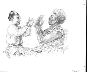 clapping sketch