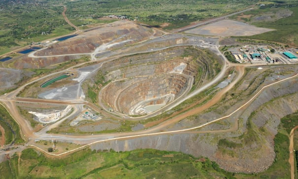 North Mara goldmine in Tanzania.