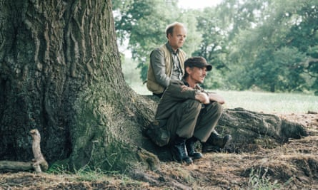 Planning their dream dinner party … Lance (Toby Jones) and Andy (Mackenzie Crook) in Detectorists.