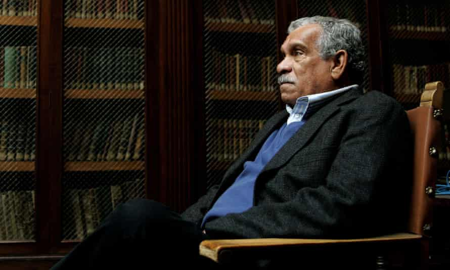 Derek Walcott in 2006. He illuminated the experience of both time and place in the Caribbean, which had a profound influence on his writing.