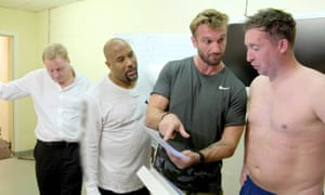 Harry Redknapp with John Barnes and Robbie Fowler in Harry's Heroes: The Full English