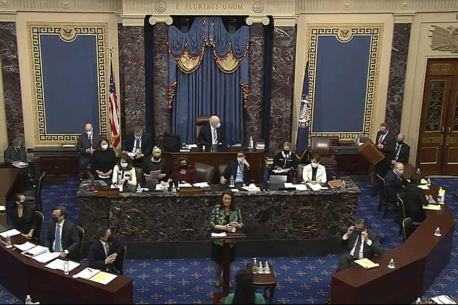 'It's really hard to think of a moment from the first trial where all 100 senators sat at attention and were as rapt and challenged by the evidence as we saw yesterday,' said one congressional aide.