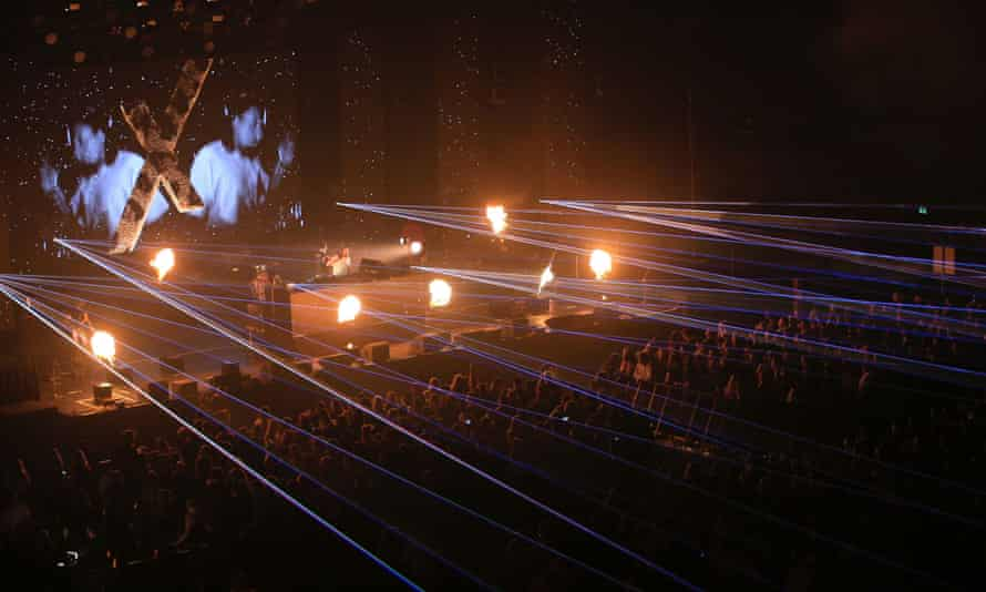 ZiggoDome opened its doors to small groups of people who tested negative 48 hours in advance.