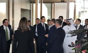 Jared Kushner at the Bahrain conference