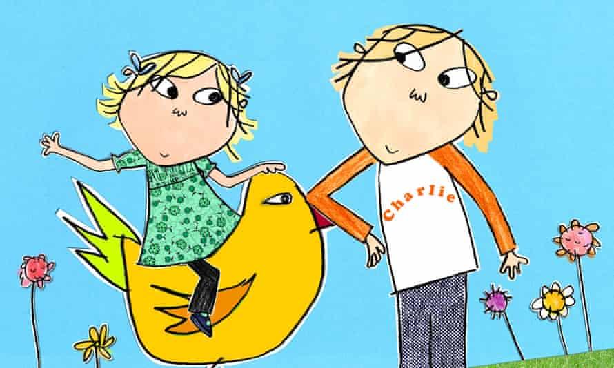 Charlie and Lola, TV show on CBeebies