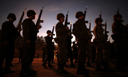 The military has played a central role in the war on drug cartels since at least late 2006.