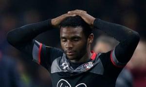 Cuco Martina and his Southampton team-mates had a disappointing night at Sparta Prague