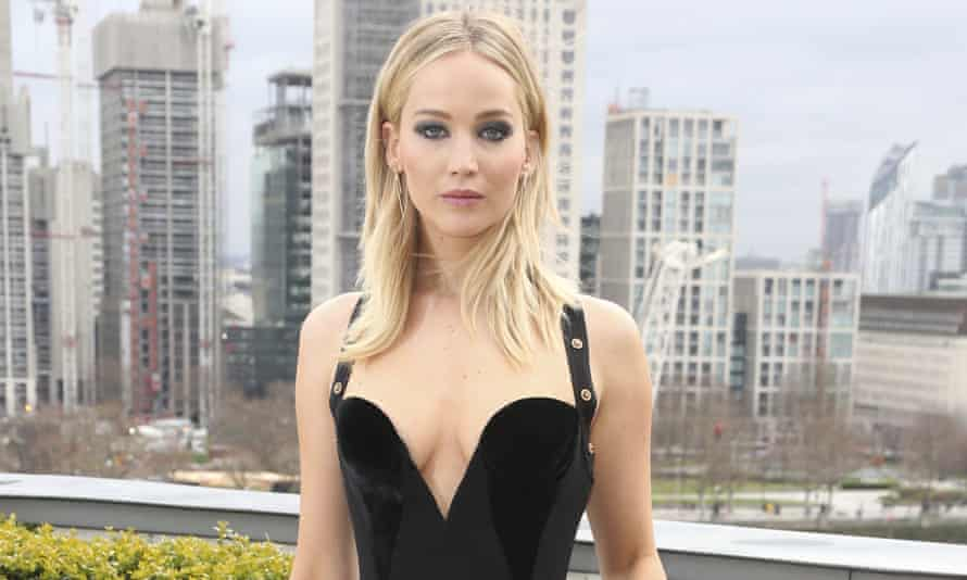 Jennifer Lawrence at a photo call for Red Sparrow in London.