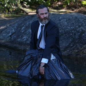Joaquin Phoenix in Ramsay's 2017 film You Were Never Really Here
