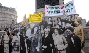 Suffragette exhibition