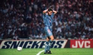England's last kick at Euro 96.
