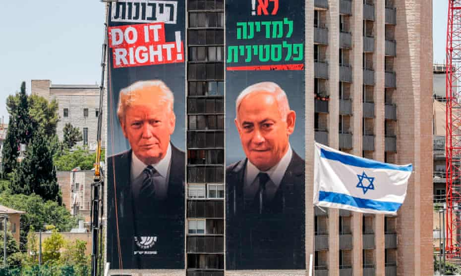 Donald Trump's identification with the policies of Benjamin Netanyahu have weighed more heavily with younger Democrats than historic ties with Israel.