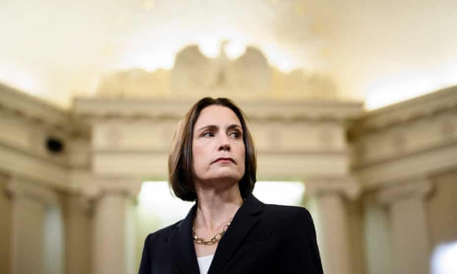 Fiona Hill: 'What I was most worried about was the toxicity of the issue of Russia.'