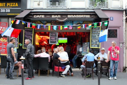 One of the street's bars