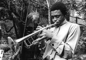 Hugh Masekela in New York City, 1968