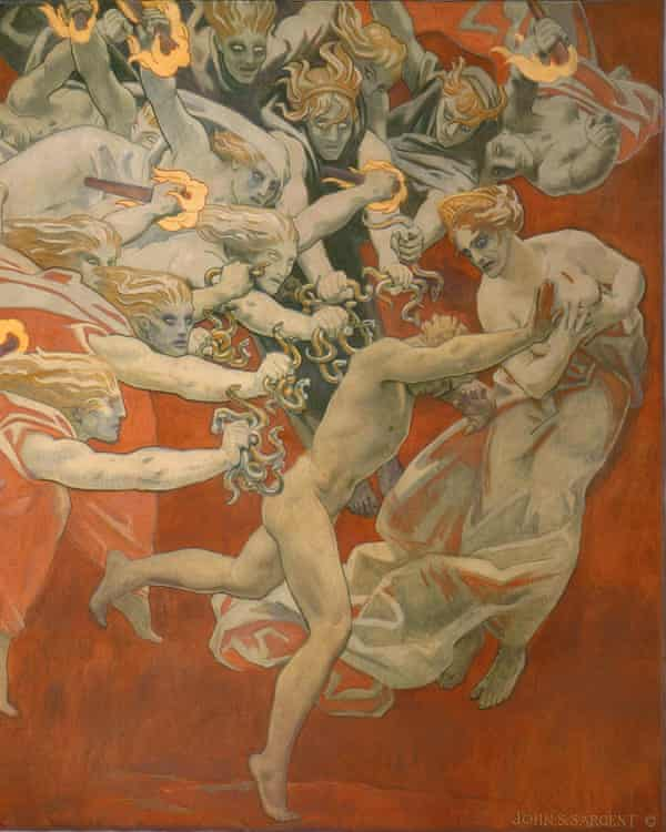 John Singer Sargent's Orestes Pursued by the Furies, 1921.