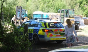 Emergency services were called to one of the Flamefest campsites at 6am on Tuesday after reports of two people being found unconscious.