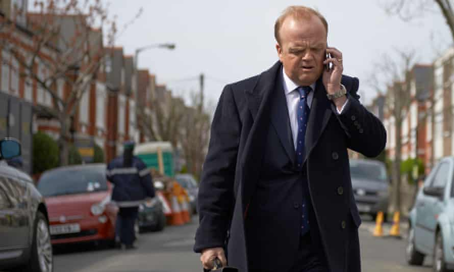 Programme Name: Capital - TX: n/a - Episode: n/a (No. n/a) - Picture Shows: Roger (TOBY JONES) - (C) Kudos - Photographer: Hal Shinnie
