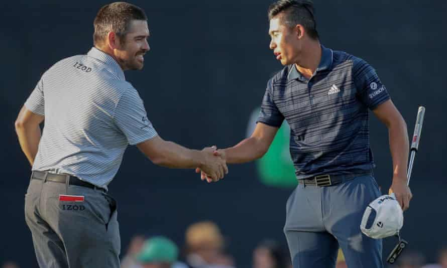 Louis Oosthuizen and Collin Morikawa will be the last pair out for the final round at Royal St George's on Sunday.